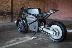 union motion unveils the akira inspired 'phaser type 1' electric motorcycle  www.designboom.com