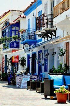Samos Island in Greece mytilene. ..