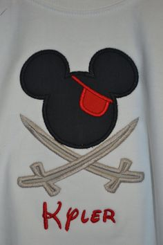 pirate mickey; for my friend doing an internship there (: