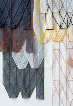 Sculptural Curtains by Ronan and Erwan Bouroullec