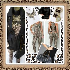 Love animal print but not sure how to wear it... (All items are available at T'Michell Fashion Boutique)