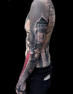 Cool full sleeve tattoo - 80+ Awesome Examples of Full Sleeve Tattoo Ideas  <3 <3