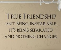 Best Friend Memories: True Friendship Friends Quote Decal Decoration by DecalsForTheWall