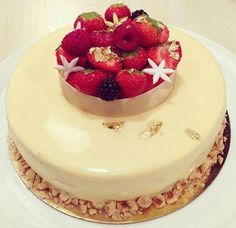 Mousse, Homemade Cakes, Something Sweet, Panna Cotta, Cheesecake, Deserts, Dessert Recipes, Birthday Cake, Sweets