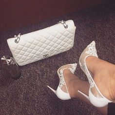 beauty, advice & more. Cute Heels, Lace Up Heels, Pumps Heels, Stiletto Heels, Talons Sexy, Beautiful High Heels, Dream Shoes, Party Shoes, White Shoes