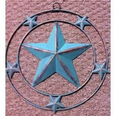 Texas Star Wall Art wall decor/ metal star wall decor/ texas star cast iron wall decor
