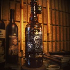 Ommegang Game of Thrones inspired beer bottle lamp
