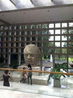 """Cabeza colosal  1. Museo de Antropologia de Xalapa  Av. Xalapa, Xalapa Enríquez, VER  """"El segundo mejor de América Latina, una colección impresionante de nuestras culturas milenarias"""""""