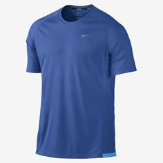 Nike Store. Nike Miler UV Men's Running Shirt