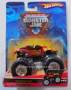 2007 Hot Wheels #43 Maximum Destruction Red Monster Jam Truck 1:64 Retired #HotWheels #MaximumDestruction