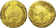 Philip the Handsome (1482-1506), for the County of Namur, Florin d'Or, 1499, Namur Mint.