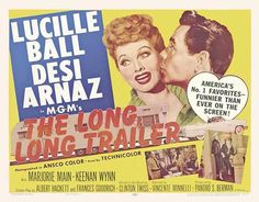 The Long Long Trailer (UK) 30x40 Movie Poster (1954)