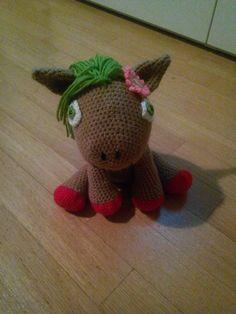 Pony marrone