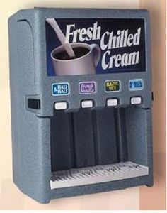 A relay inside the creamer dispensers can overheat.