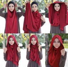 Simple and simple look hijab tutorial . Simple and simple look hijab tutorial … – … Si… Simple and s Tutorial Hijab Pashmina, Hijab Style Tutorial, Stylish Hijab, Hijab Chic, Islamic Fashion, Muslim Fashion, Hijab Dress, Hijab Outfit, Turban Hijab