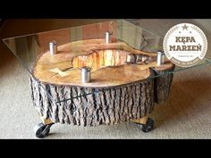 Old Weathered Wood Slice Wall Art Sculpture - YouTube