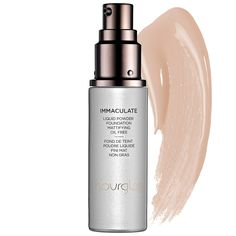 Hourglass Immaculate Liquid Powder Foundation Mattifying Oil Free- Absorbs oil and conceals blemishes