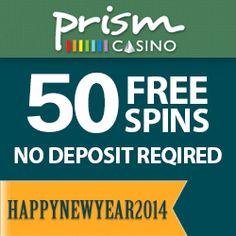 prism casino no deposit coupon codes