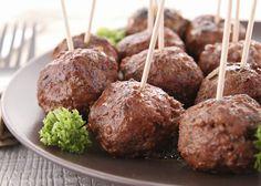 Sue Bee Meatball Appetizers