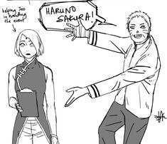 It's Uchiha get it right Naruto you idiot Naruto Sasuke Sakura, Naruto Cute, Naruto Shippuden Anime, Sakura Haruno, Anime Naruto, Sasunaru, Sasuhina, Narusaku, Sasusaku Doujinshi