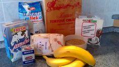 NapadyNavody.sk | Roláda z tortových oplátok, s karamelovo-kokosovou plnkou a banánom Krystal, Banana, Fruit, Bottle, Flask, Bananas, Crystal, Fanny Pack, Jars