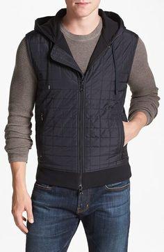 Michael Kors Quilted Hooded Vest | Nordstrom