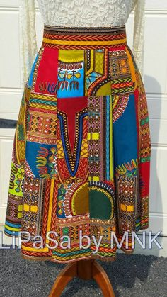 Check out this item in my Etsy shop https://www.etsy.com/listing/246528682/dashiki-patchwork-midi-skirt