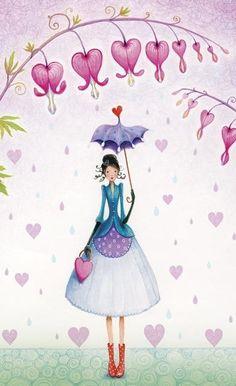 Art by Mila Marquis Art And Illustration, Illustrations, Photo Deco, Art Carte, Jolie Photo, Whimsical Art, Love Art, Mandala, Artsy