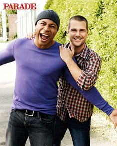 LL Cool J and Chris O'Donnell Exclusive Photos