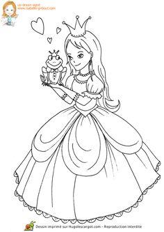 Princesse Grenouille, page 9 sur 13 sur HugoLescargot.com