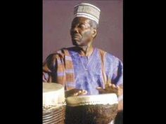 Nigerian drummer, Babatunde Olatunji with Jin-Go-Lo-Ba (Drums of Passion)
