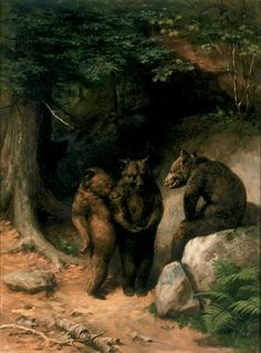 So You Wanna Get Married, Eh? | William Holbrook Beard | Artwork | National Museum of Wildlife Art