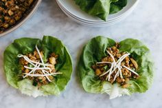 These asian chicken lettuce wraps are reminiscent of PF Chang's chicken lettuce wraps, yet they're gluten-free, paleo-friendly and much healthier.