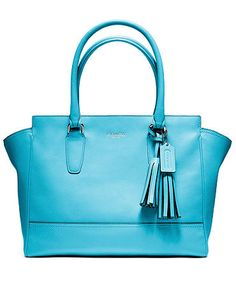 COACH LEGACY LEATHER MEDIUM CANDACE CARRYALL on sale for $278