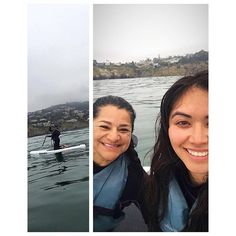 Tried paddle boarding this morning & proud my mom made it past the surf after going a few rounds with it 🙊😂 love you mom & Happy Memorial Day y'all! Salute to our fallen soldiers 💙⚓️📯🇺🇸 • • • • • • 🌊🌊🌊🌊🌊🌊🌊🌊🌊🌊🌊 #paddleboarding #everydaycalifornia #lajolla #crabs #pelicans #fishies #sealions #62degrees #greatviz #wetried #weateit #teamknees #she'sontheleft #missingmysissy #sheonlydidit #causeipaidforit hahaha 😂😘 #lajollalocals #sandiegoconnection #sdlocals - posted by…