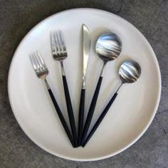 Brushed Steel Cutlery