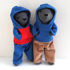 "@saskiasstudio on Instagram: ""Barty bear has a little brother! He's named William."