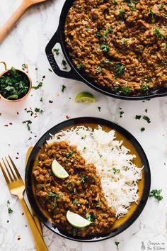 Red Lentil Curry – Vegan, One Pot