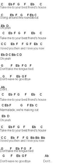 Flute Sheet Music: Grouplove