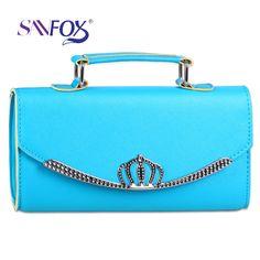 Nuevo desgin bolsos bandolera mujer corona de moda niñas bolso del color del caramelo bolsos femeninos del mensajero 1214(China (Mainland))
