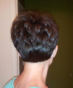 the back of a pixie cut | Per request: Back of my Pixie cut :)