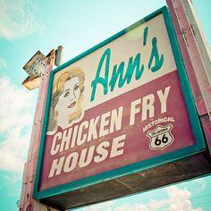 Located along historic Route 66 in Oklahoma City, Oklahoma.