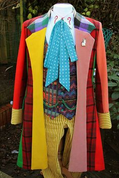 Replica Sixth Doctor costume by Steve Ricks http://sixthdoctorcostume.blogspot.com/?m=1