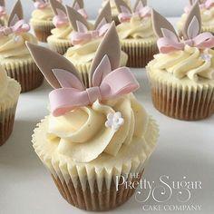Easter Bunny Cupcakes! Easter bunny // cupcake // easter cupcakes // easter party / easter treats