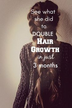 Hair Remedies Check whats her secret behind super fast hair growth Hair Remedies For Growth, Hair Loss Remedies, Beauty Tips For Face, Hair Beauty, Beauty Tricks, Fast Hairstyles, Haircuts, Color Your Hair, Prevent Hair Loss
