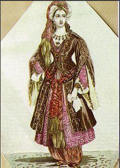 women's clothing in the Ottoman & Osmalıda Kadın Giyimi