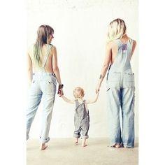 Beautiful family. Love is love