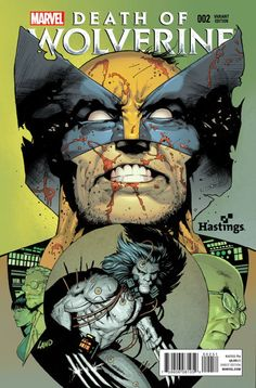 Death of Wolverine #2 variant cover by Greg Land *