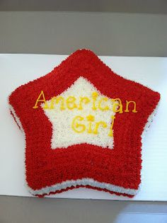 Brandi Cakes: December Cakes and Cupcakes - American Girl doll star