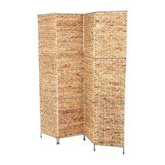 "Castine 67"" x 60"" Folding Screen 4 Panel Room Divider"